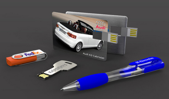 Popular models of customized usb flash drives